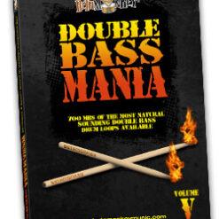Double Bass Mania V - Doom, stoner, sludge metal drums.