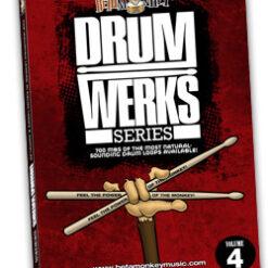 Drum Werks IV | Studio Grooves for Rock, Bluesy-Rock, and Pop Rock