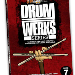 Drum Werks VII - 100% live rock, alt-rock drum loops