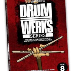 Drum Werks VIII | Rock, Alt Rock, Indie Rock Drum Loops