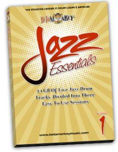 Jazz Drum Loops - Jazz Essentials I