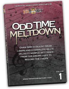 Odd Time Drum Loops - Odd Time Meltdown I