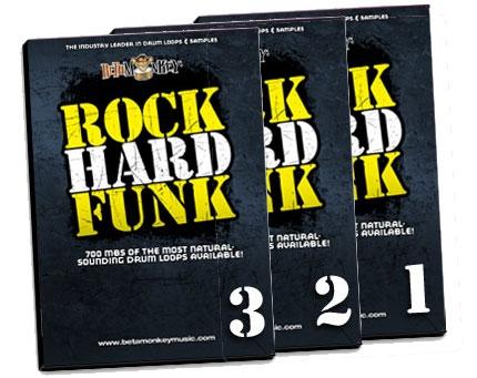 Product image of Rock Hard Funk drum loops bundle