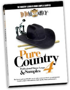 3/4 and 6/8 drum loops with brushes - Pure Country IV
