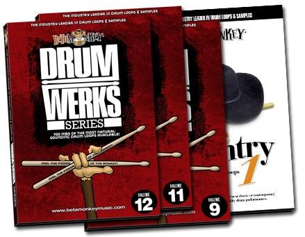 Product image of Rocking Nashville Country Drum Loop Bundle