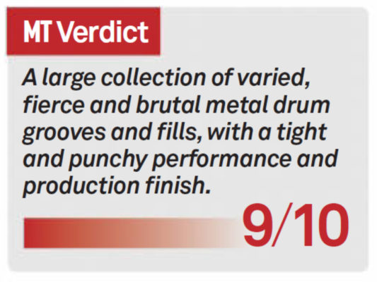 Heavy Metal Drum Loops: Double Bass Mania VIII