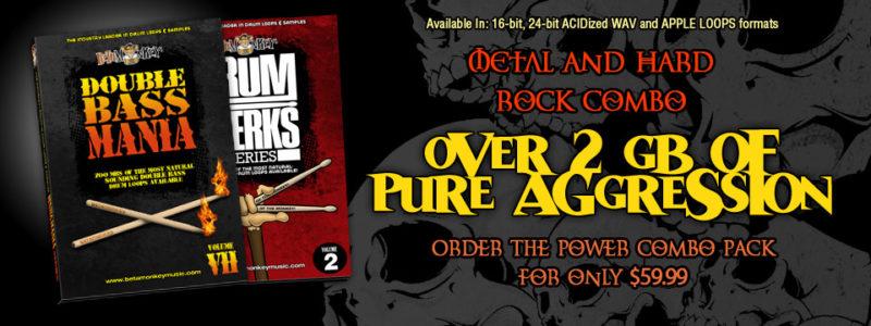 Rock and Metal Drum Loop Combo Package
