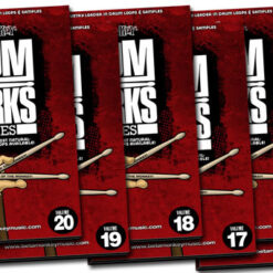 Get powerful rock drum tracks with this massive collection of rock drums.