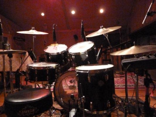 Live drum backing tracks