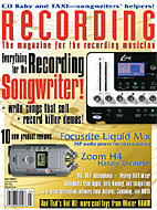 Recording Magazine Cover - Beta Monkey Loops Review